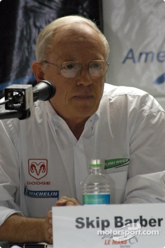 Conférence de presse ALMS : Skip Barber