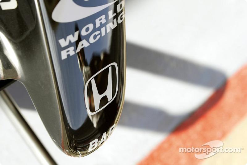 Detail of the 2004 BAR-Honda development car