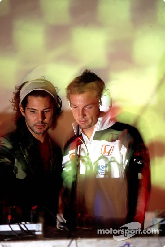 Jenson Button à Paradiso