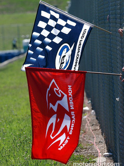 Ford and Holden flags