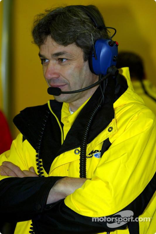 James Robinson, ingénieur Jordan
