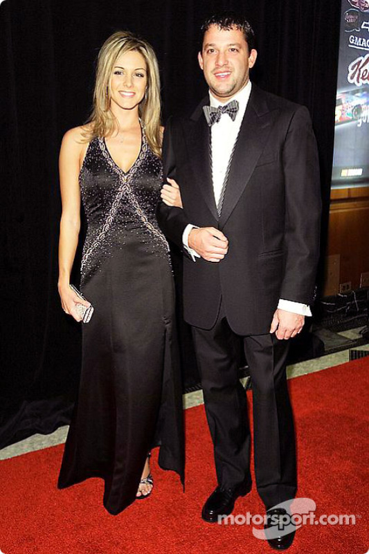 Tony Stewart With His Girlfriend At Champions Week On November 16th