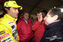 Jean Todt with Sandro Montani