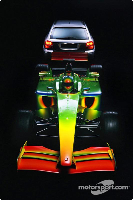 Jaguar Formula One Art of Speed, spécialement créé par Pininfarina et Jaguar