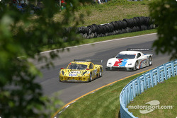 #8 G&W Motorsports BMW Picchio DP2: Darren Law, Andy Lally, Geoffrey Bodine, and #59 Brumos Racing Porsche Fabcar: Hurley Haywood, J.C. France, Chris Dyson