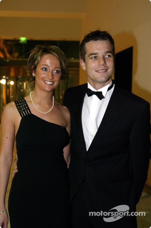 Sébastien Loeb and wife