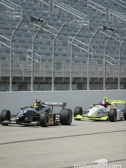 Racer Kashima and Victor Gonzalez