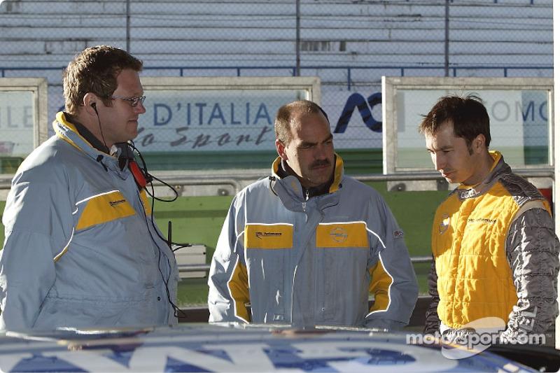 Dr Pfistereri, Dr. Hendrikse and Heinz-Harald Frentzen