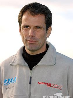 Nissan Dessoude team presentation: Christian Lavieille