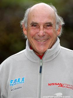 Présentation de l'équipe Nissan Dessoude : René Metge