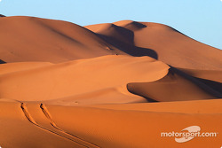 More spectacular dunes in Morocco