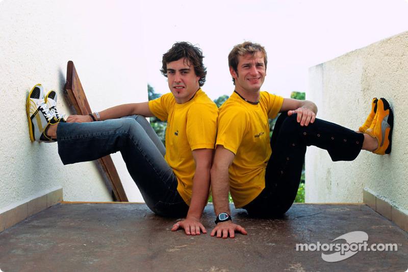 Презентація Renault F1 Team і Puma: Фернандо Алонсо і Ярно Труллі