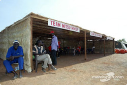 Mitsubishi service area in Bodo Dioulasso