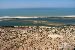 The beach in Dakar