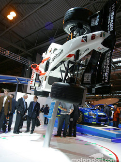 Prodrive stand at Autosport International