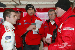 Sébastien Loeb and Guy Fréquelin