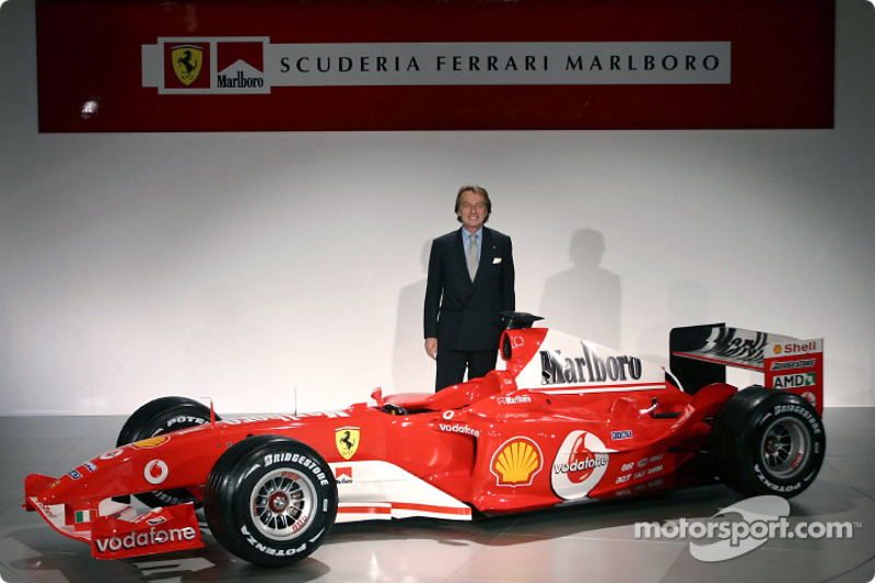 Лука ді Монтедземоло і Ferrari F2004