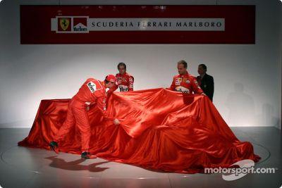 Ferrari F2004 launch