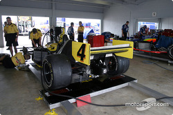 Panther Racing garage area