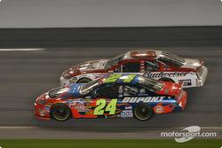 Jeff Gordon et Dale Earnhardt Jr.