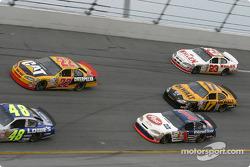 Scott Wimmer, John Andretti, Matt Kenseth and Dave Blaney