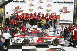 Dale Earnhardt Jr. arrives on victory lane