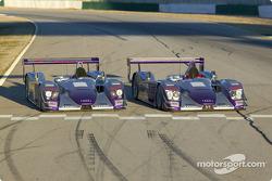 Audi Sport UK Team Veloqx's Audi R8 racers