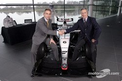 McLaren-Sparco presentation: Martin Whitmarsh and Diego Basso at the McLaren Technology Centre