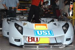 G&W Motorsports garage area