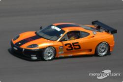 #35 Scuderia Ferrari of Washington Ferrari 360 Challenge: Thomas Jermoluk, Dan Kennedy