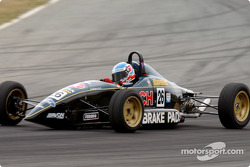 Young Macrow out in front during the final race of the Formula Ford