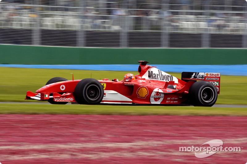 2004. Переможець: Міхаель Шумахер, Ferrari F2004