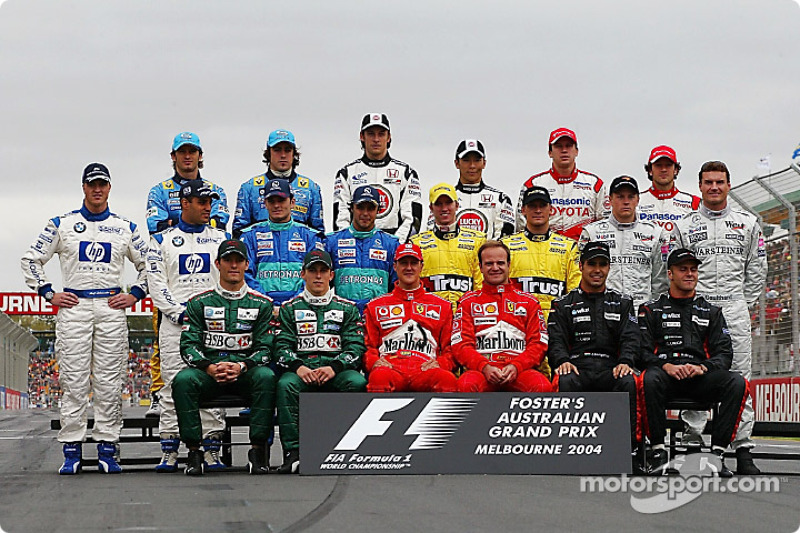 Пилоты Формулы 1 сезона-2004