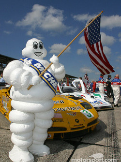 The always happy Michelin Man