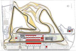 Bahrain International Circuit plan