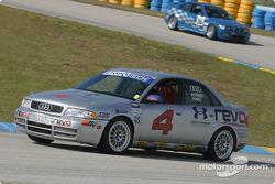 L'Audi S4 n°4 du Istook / Aines Motorsport (Blake Rosser, Randy Pobst)