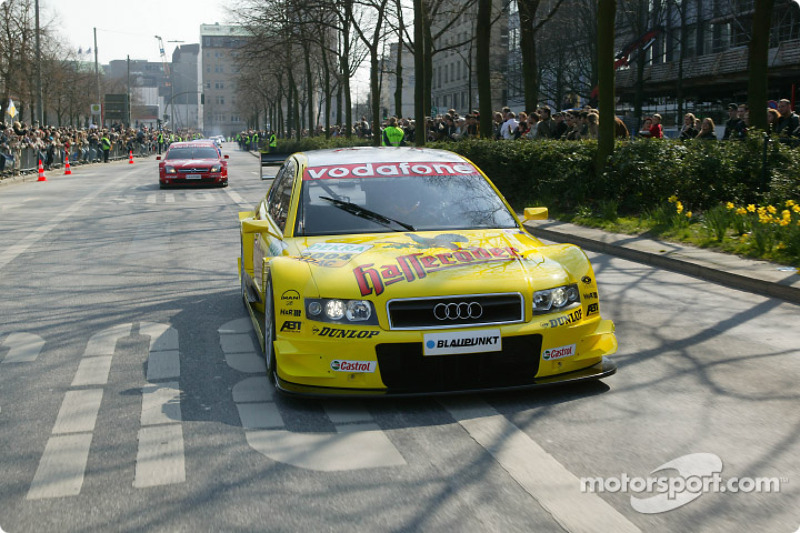 Christian Abt in the Audi A4 DTM