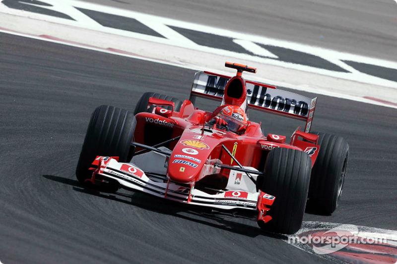 2004 Bahrain GP, Ferrari F2004