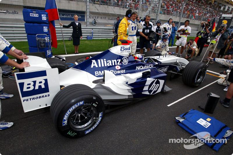 Startaufstellung: Juan Pablo Montoya, Williams
