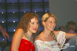 Jasmin Wagner ve Giulia Siegel