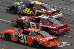 Greg Biffle, Dale Earnhardt Jr. and Robby Gordon