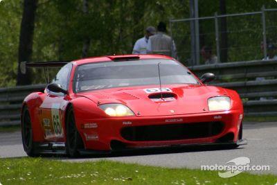 Vortest in Le Mans