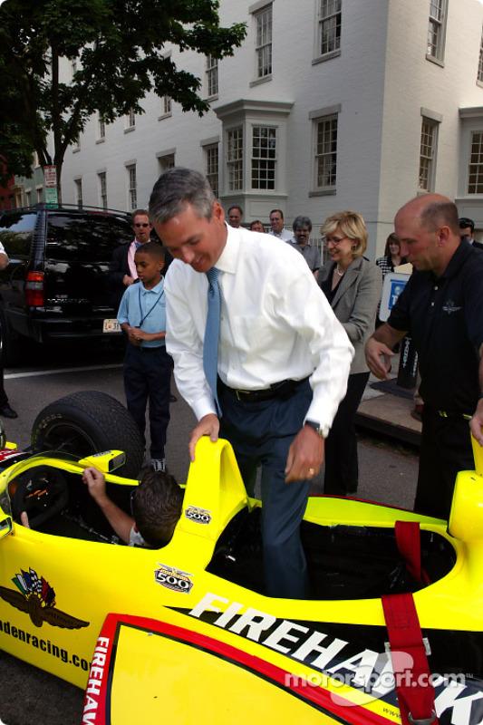 L'Indy 500 visite Washington