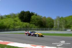 La Corvette n°07 du Powell Motorsport (Normand Guindon, Marc-Antoine Camirand, Bertrand Godin)