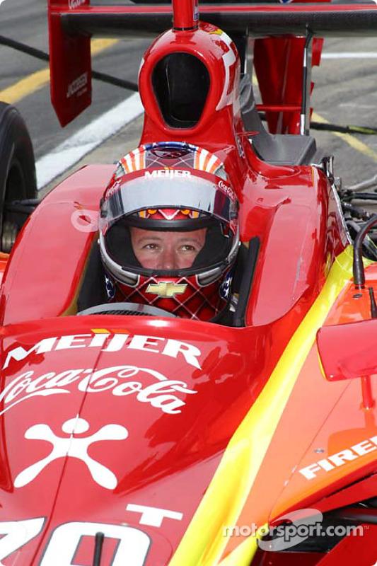 Robby Gordon se prépare aux essais