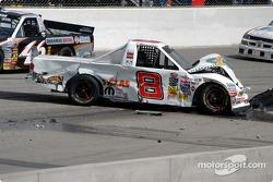 Le truck accidenté de Chase Montgomery