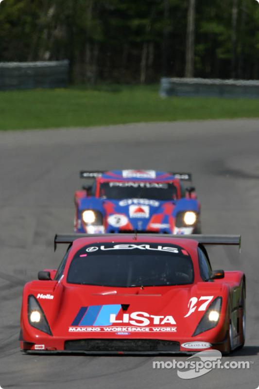 La Toyota Doran n°27 du Doran Lista Racing (Didier Theys, Jan Magnussen)