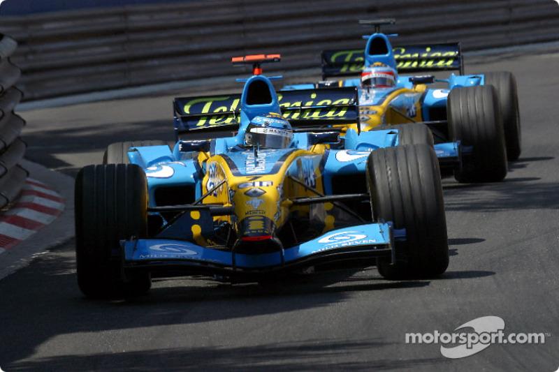 Ярно Труллі (Renault) - Монако, 2004
