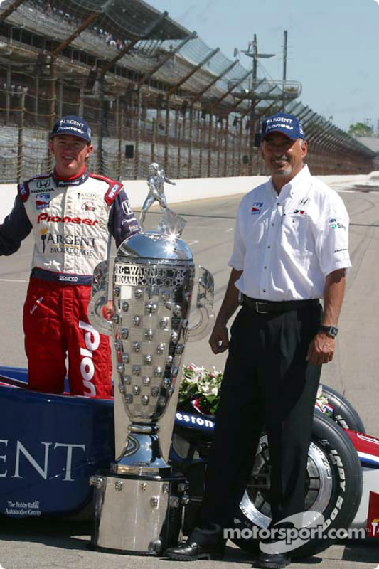 Buddy Rice et Bobby Rahal
