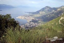 Scenic Greek coastline